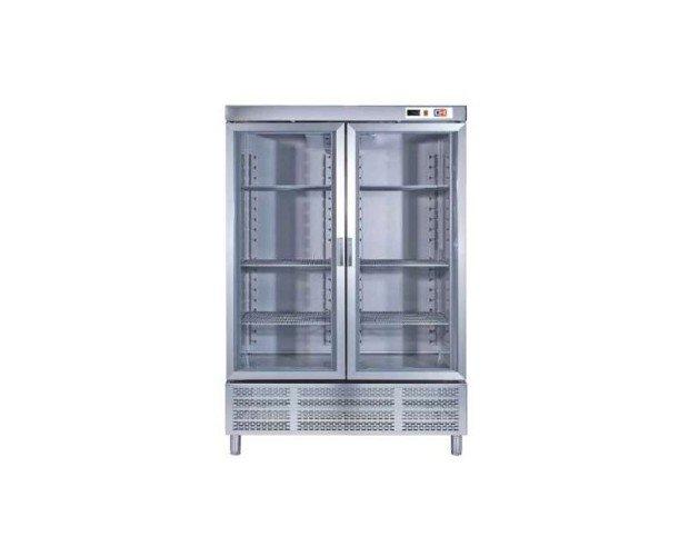 Armario profesional refrigeración. 2 puertas de cristal