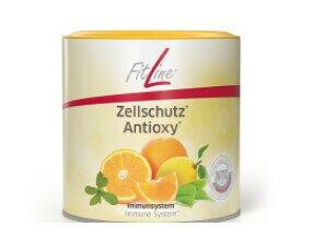 FitLine Zellschutz. Contiene vitamina C contribuye al funcionamiento normal del sistema inmunológico