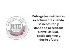 Concepto Transporte Nutrientes NTC. Un concepto único que obtiene la máxima biodisponibilidad de los nutrientes vitales