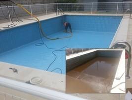 Limpieza de piscina