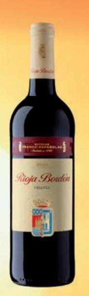 Bebidas Alcohólicas. Vinos, tanto propios como de la Rioja y Rivera