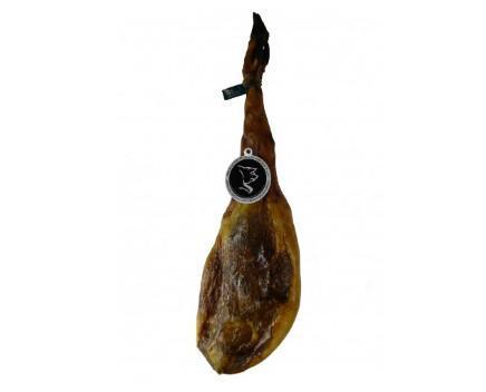 Jamón Ibérico de cebo. Jamón elaborado de forma artesanal y curado al natural en la Sierra de Huelva