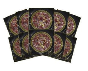 10 paquetes de jamón loncheado. Jamón ibérico de bellota loncheado a mano.