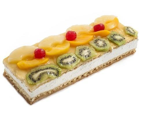 Brazo Hojaldre y Frutas. Con crema pastelera y frutas naturales