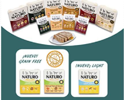 Alimento húmedo. Proporciona una dieta sana y equilibrada para perro adulto o cachorro.
