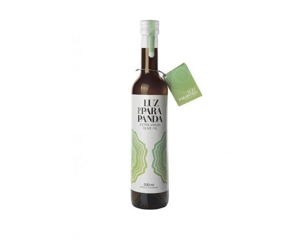 Botella de cristal de 500ml. Aceite de oliva virgen extra de elevada calidad y gran aroma