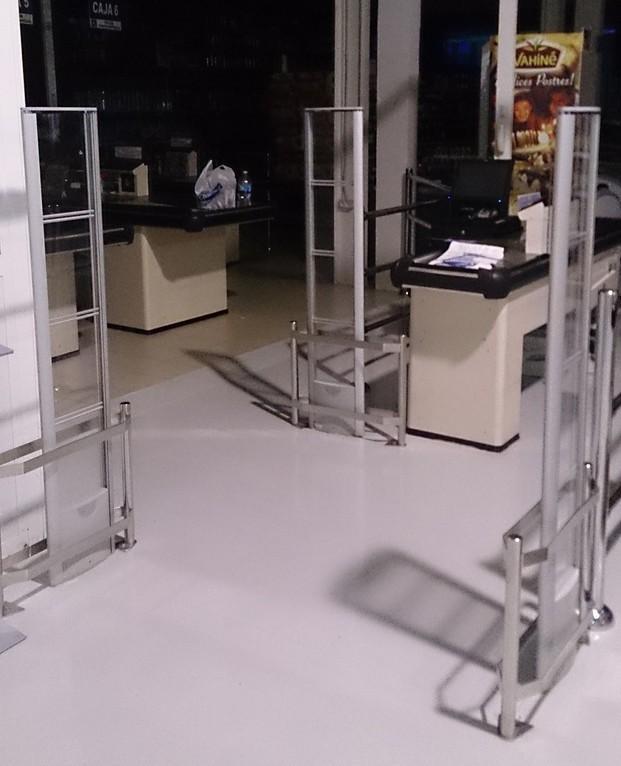 Antihurto supermercados. Antenas antihurto para supermercados y comercios de alimentación.