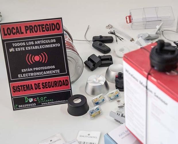 Alarmas antihurto. Protección antihurto para todo tipo de comercios