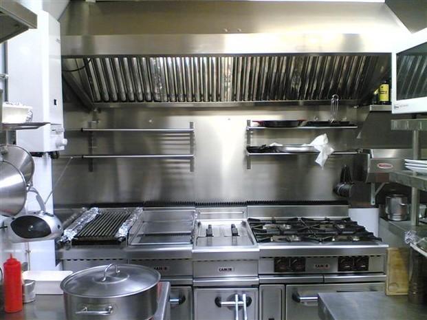 Cocinas industriales. Instalaciones integrales a la hostelería