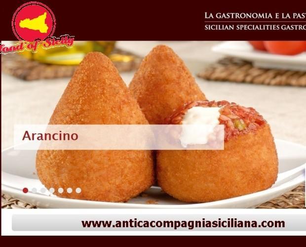 Arancino. Gastronomía siciliana