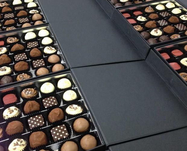 Bombones de Chocolate.Bombones artesanales
