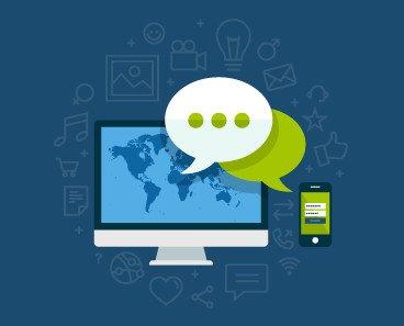 Social media. Servicios de alta calidad