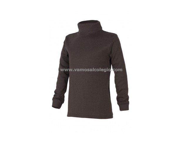 Camiseta Cuello Cisne. 50% algodón - 50% poliéster