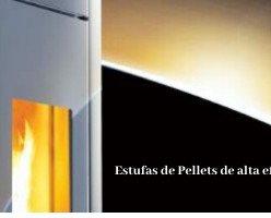 Estufas de Pellets . Alta eficiencia energética