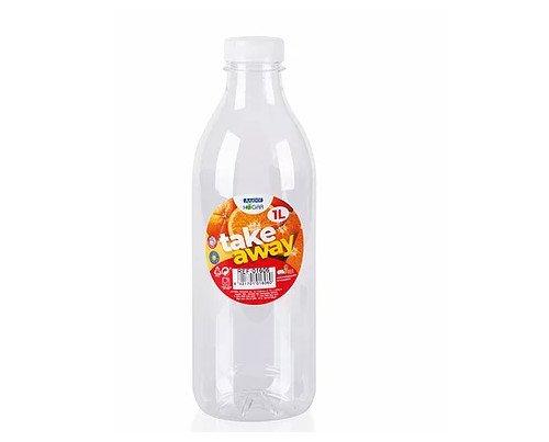 Botella de 1 L. Ideal para zumo o agua