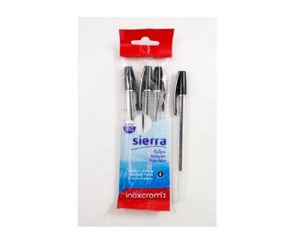 Bolígrafos negros. Bolis Sierra