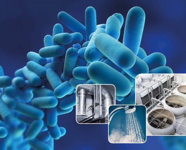Control Legionella. Velamos por su seguridad
