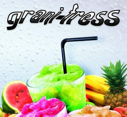 Granizados.Granizados de sabores Granifress