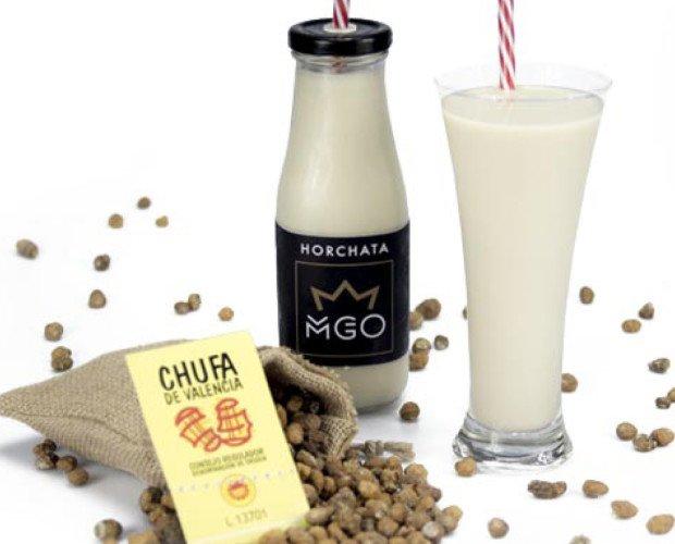 Horchata MGO. Elaborada con Chufa 100% Valenciana con Denominación de Origen.