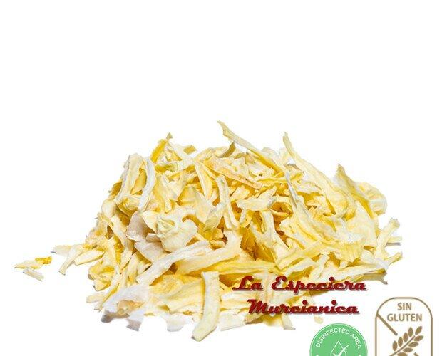 Cebolla en escama. Excelente ingrediente con un delicioso y refinado sabor a cebolla.