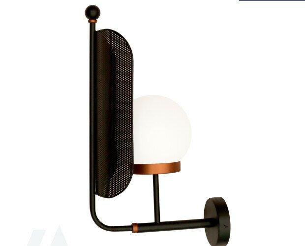 Lampara de pared. Lámpara de pared negra, envíanos tus diseños y los fabricamos con la mejor calidad