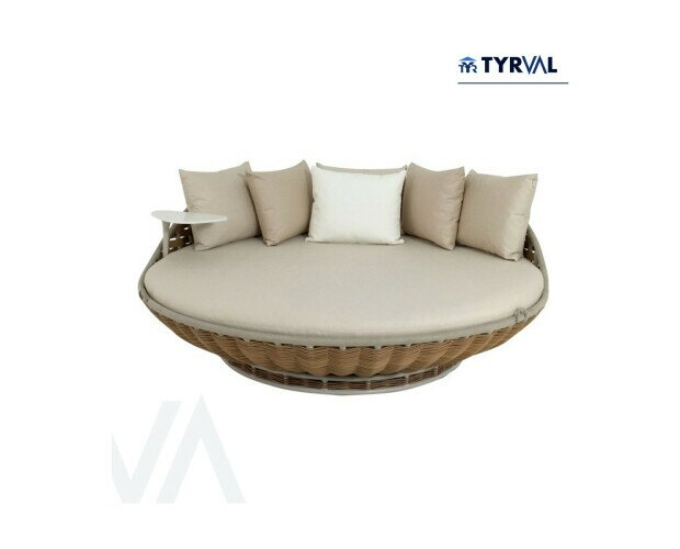 Cama/tumbona de exteriores. Tumbona king size para exteriores. Lo mejor para tus huéspedes en áreas de piscina