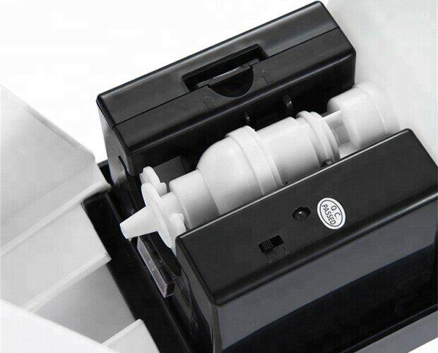 Dispensador de Gel Hidroalcohólico. Dimensión 125 * 132 * 260 mm. Distancia inductiva 5-15cm