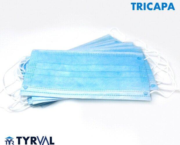 Mascarilla Tricapa. Gran efectividad para la protección