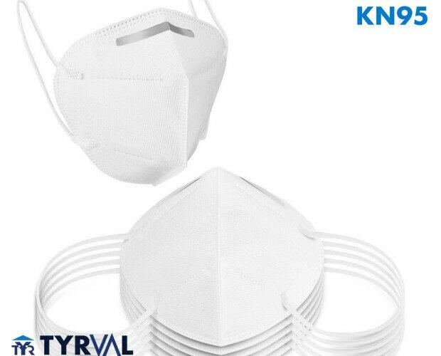 Mascarilla KN95. Son un tipo de mascarilla de respiración con filtro que suelen fabricarse y utilizars