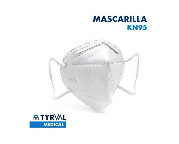 Mascarilla Desechable. También llamadas mascarillas de respiración KN95