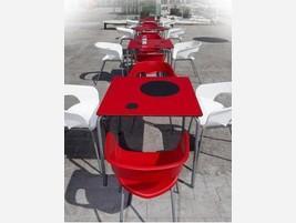 Mesa roja
