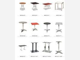 Mesas aluminio