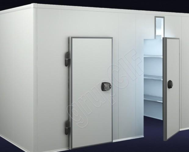 Camaras frigorífcas. Cámara frigorífica modular