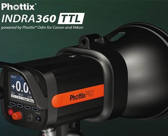 Phottix indra. Flash de estudio