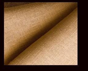Fibras Textiles. Fibras de Yute. Tela de saco de 330 gramos