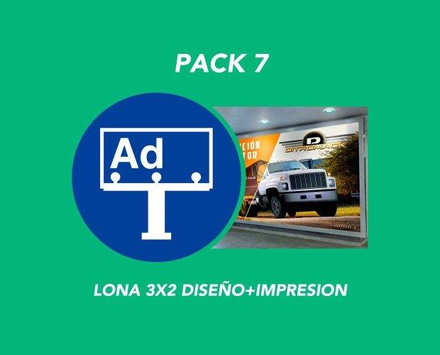 Pack 7. Lona PVC + Diseño