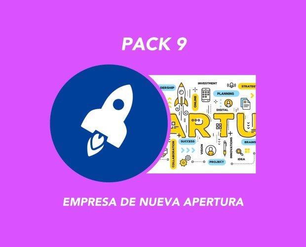 Pack 9. Todo lo que necesitas para iniciar tu proyecto