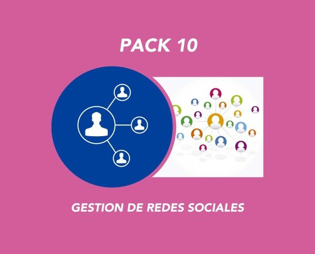 Pack 10. Gestion de Redes Sociales