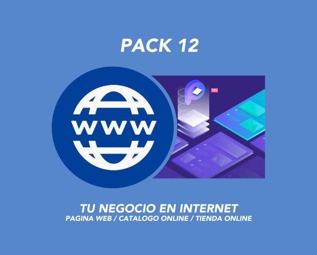 Pack 12. Pack Desarrollo Web