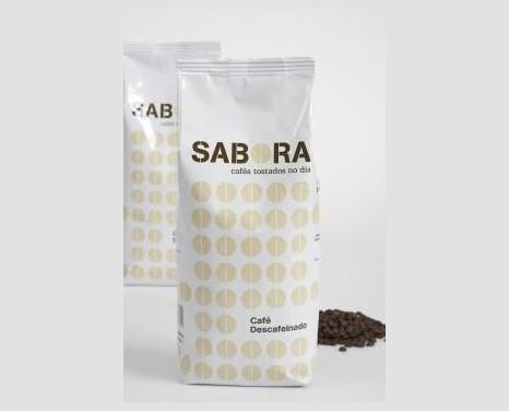 Café Descafeinado. Bolsas de 1 kg y ½ kg