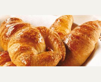 Croissant. Croissant de diversos tipos