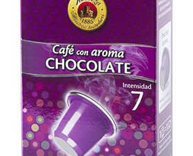 Café con Aroma Chocolate. El aroma de chocolate impregna su paladar