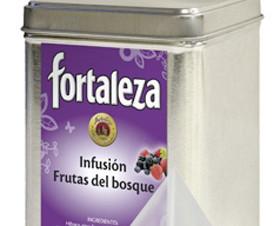Infusiones. Selecta mezcla de frutos rojos, mora, fresa, frambuesa