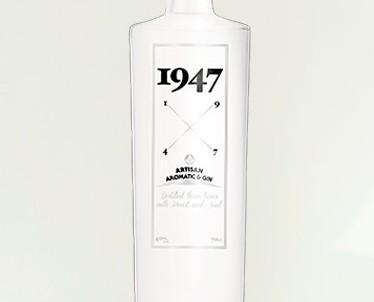 Gin 1947. Ginebra artesanal