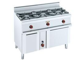 Cocinas industriales. Variedad de cocinas en acero inoxidable