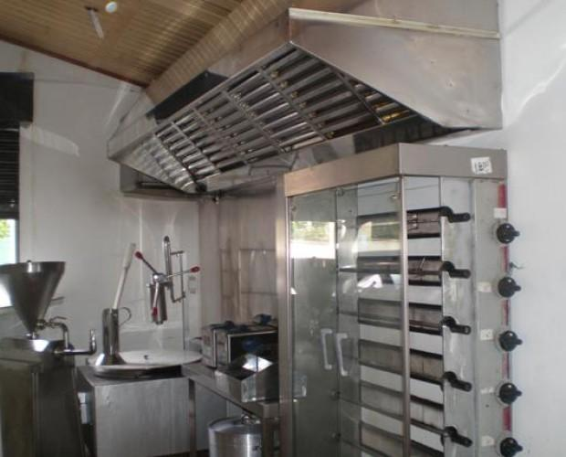Asadero churreria. Instalación de cocinas industriales