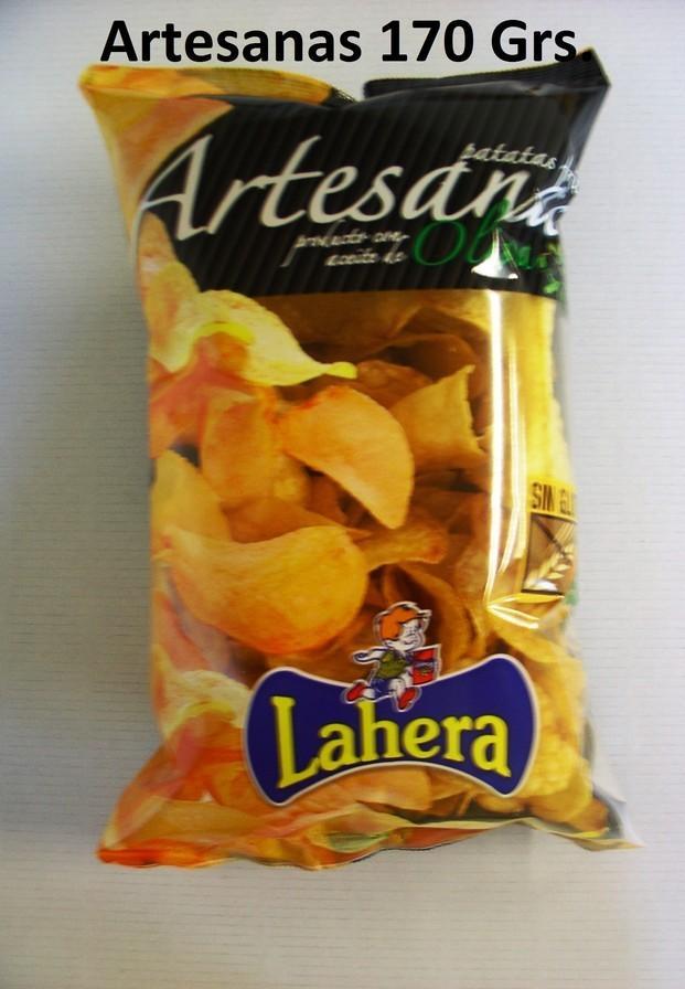 Artesana 170 Grs.. Patata Frita Artesana elaborada con con Aceite de Oliva 100%