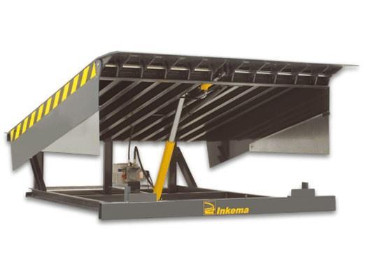 Muelles de carga. Soporta cargas dinámicas de 6 Tm
