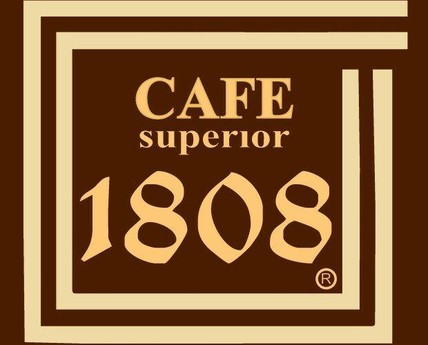 Logo Cafés 1808. Imagen de marca de Cafés 1808. Especialidad en Hostelería.