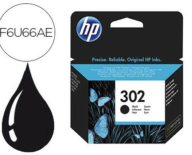 CARTUCHO INKJET HP 302. Cartucho impresora Inkjet HP 302 negro